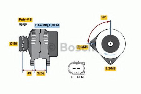 Генератор Bosch 0124325013