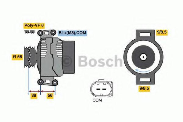 Генератор Bosch 0124525226