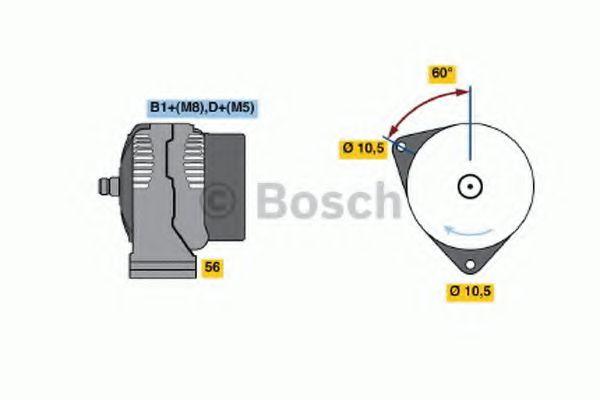 Генератор Bosch 0124625031
