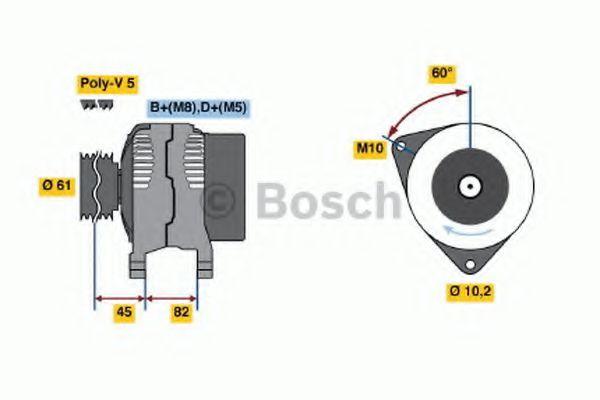 Генератор Bosch 0123320016