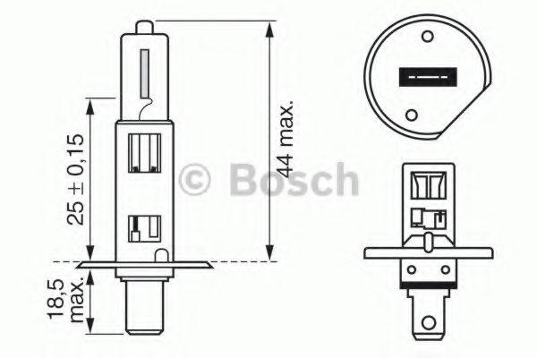 Трансмиссионные Лампа накаливания, основная фара BOSCH арт.