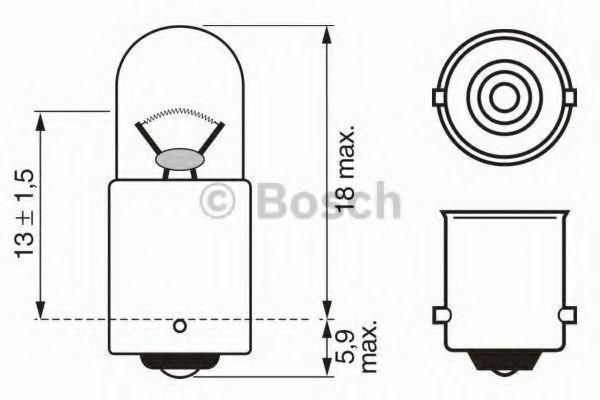 Лампа накаливания BOSCH арт. 1987302508