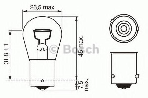 Автолампа 21W Bosch 1987302213