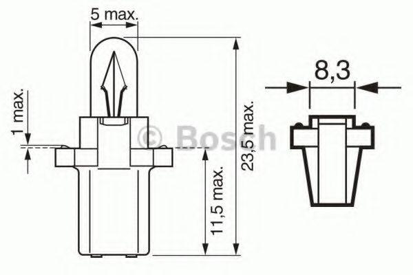 Лампа накаливания BOSCH арт. 1987302515