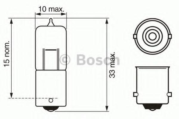 Лампа накаливания, стояночные огни / габаритные фонари Bosch - 1987302233