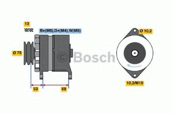 Генератор Bosch 6033GB3034