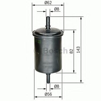 Топливный фильтр Bosch - 0450902161