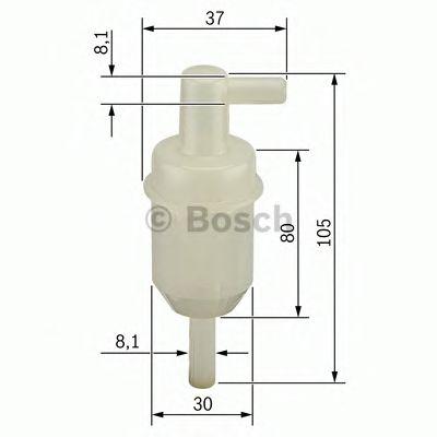 Топливный фильтр BOSCH арт. 0450904077