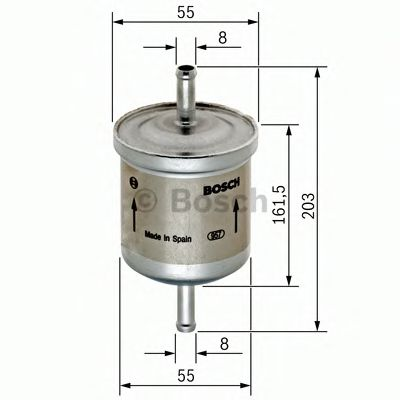 Фільтр паливний Bosch 0450905901