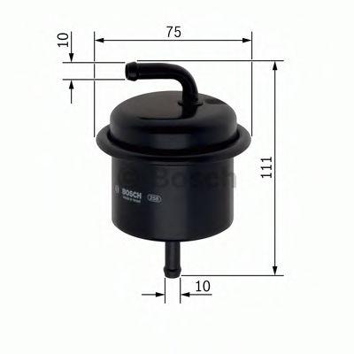 Паливний фільтр Bosch 0450905920