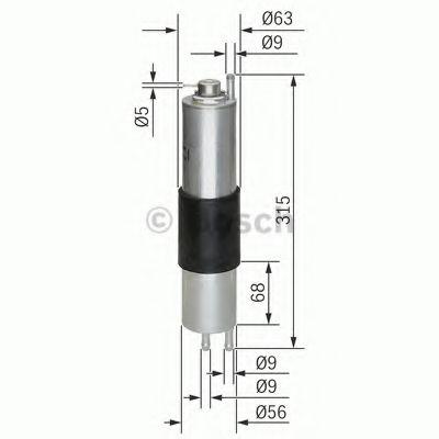 Фільтр паливний Bosch 0450905952
