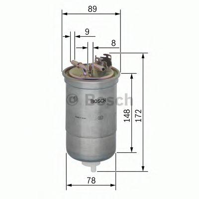 Паливний фільтр Bosch 0450906373