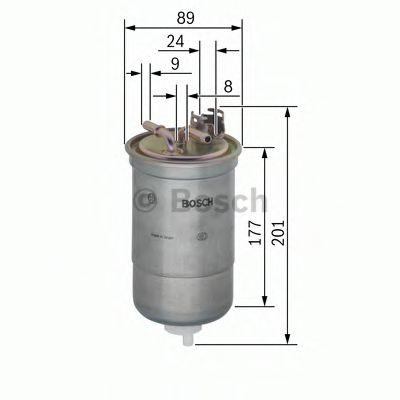 Фільтр паливний Bosch 0450906374