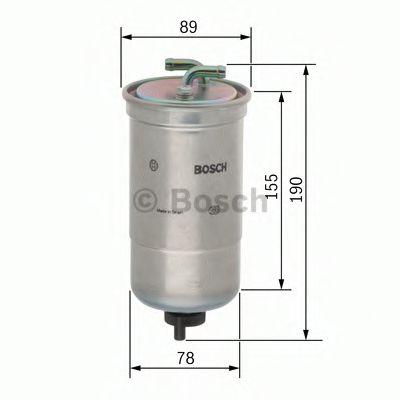 Паливний фільтр Bosch 0450906442