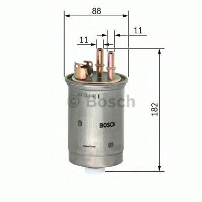 Фільтр паливний Bosch 0450906452