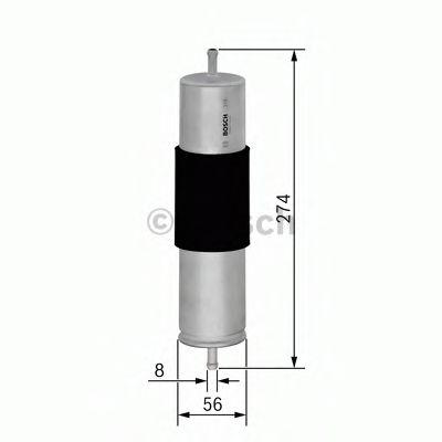Фільтр паливний Bosch 0450906463