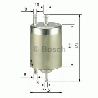 Топливный фильтр Bosch - 0450915001
