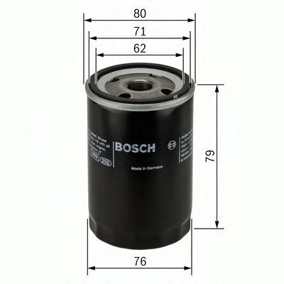 Фильтры масляные Масляный фильтр BOSCH арт. 0451102056