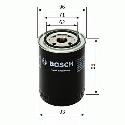 Масляный фильтр BOSCH арт. 0451103004