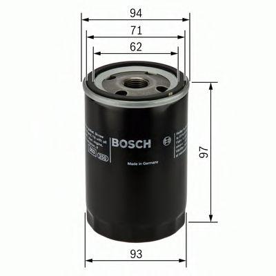 Фильтры масляные Масляный фильтр BOSCH арт. 0451103029