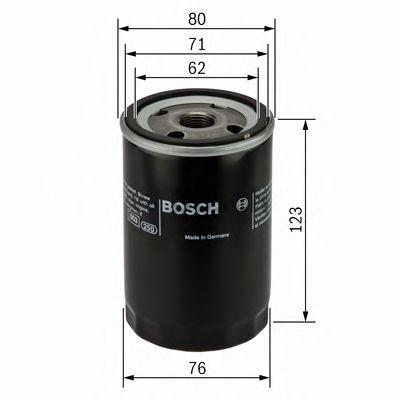 Фильтры масляные Масляный фильтр BOSCH арт. 0451103033