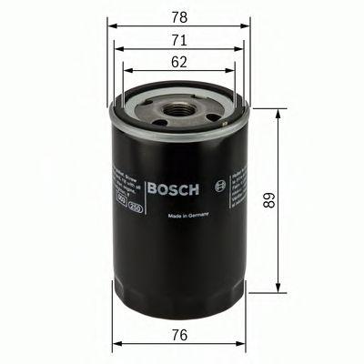 Фільтр масляний Bosch 0451103050