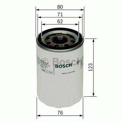 Масляный фильтр BOSCH арт.