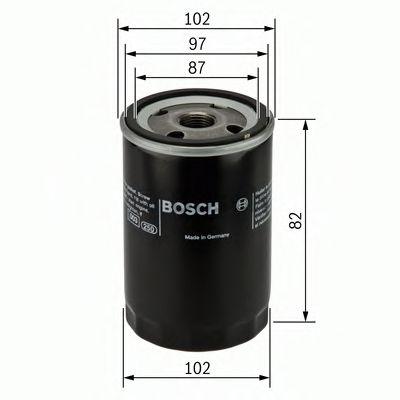 Фильтры масляные Масляный фильтр BOSCH арт. 0451103270