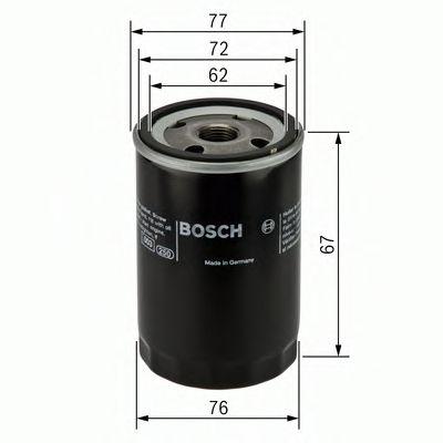 Фильтры масляные Масляный фильтр BOSCH арт. 0451103300