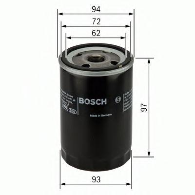 Фільтр масляний Bosch 0451103333