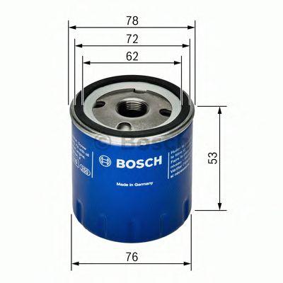 Фильтры масляные Масляный фильтр BOSCH арт. 0451103336