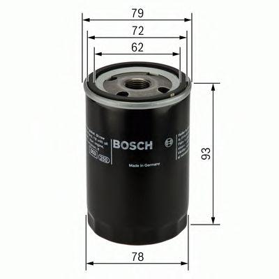 Фильтры масляные Масляный фильтр BOSCH арт. 0451103363