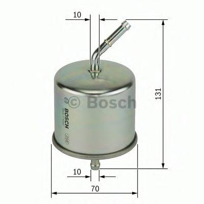 Фільтр паливний Bosch 0986450105