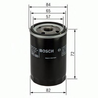 Фильтры масляные Масляный фильтр BOSCH арт. 0986452035