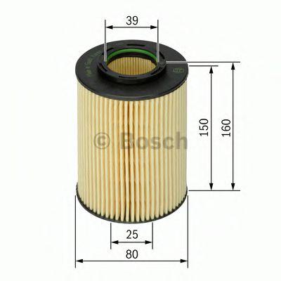 Фильтры масляные Масляный фильтр BOSCH арт. 1457429141