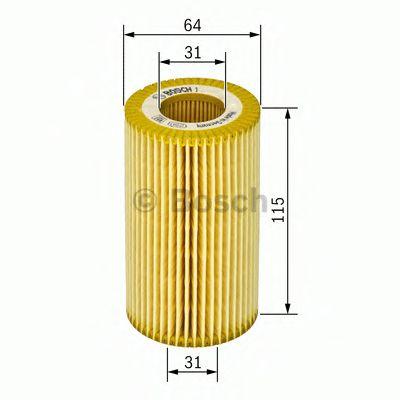 Масляный фильтр BOSCH арт. 1457429187