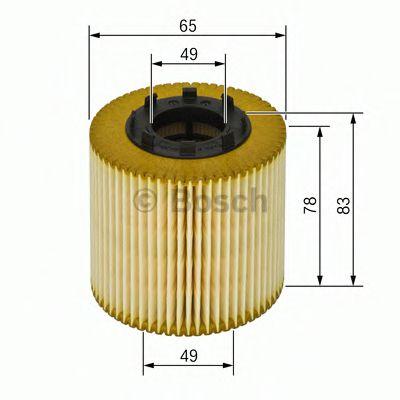 Фильтры масляные Масляный фильтр BOSCH арт. 1457429256