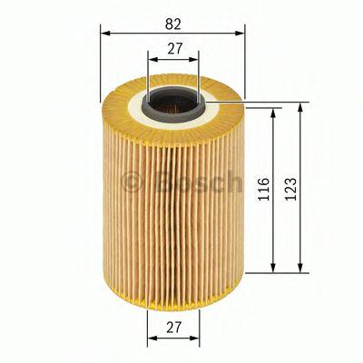 Фильтры масляные Масляный фильтр BOSCH арт. 1457429275