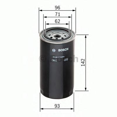 Фильтры топливные Топливный фильтр BOSCH арт. 1457429675
