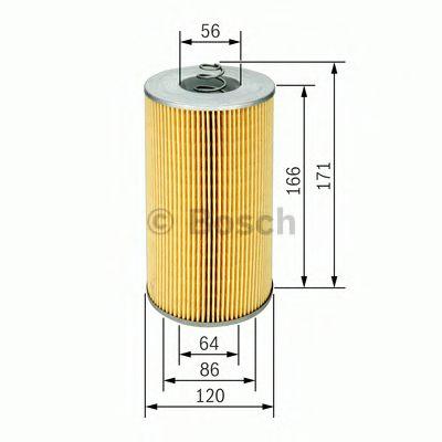 Фильтры масляные Масляный фильтр BOSCH арт. 1457429735