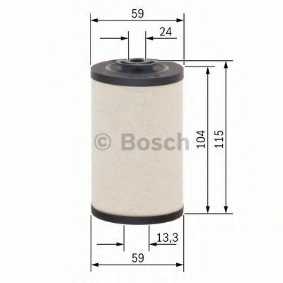 Фильтры топливные Топливный фильтр BOSCH арт. 1457431158