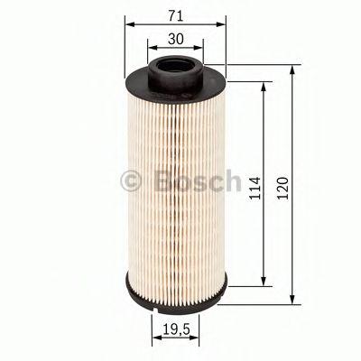 Фильтры топливные Топливный фильтр BOSCH арт. 1457431724