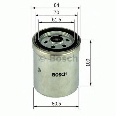 Фільтр паливний Bosch 1457434123
