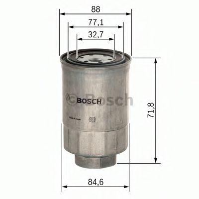 Фільтр паливний Bosch 1457434201