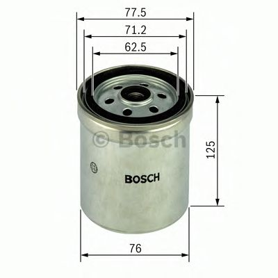 Паливний фільтр Bosch 1457434432