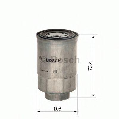 Фільтр паливний Bosch 1457434450