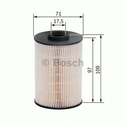 Фільтр паливний Bosch F026402005