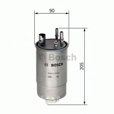 Фільтр паливний Bosch F026402049