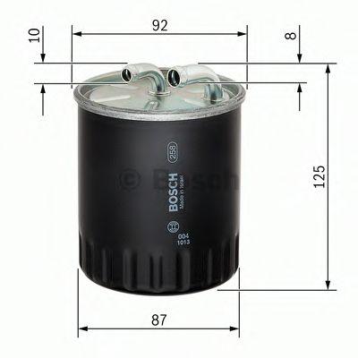 Фильтры топливные Топливный фильтр BOSCH арт. F026402065