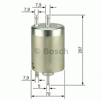 Фільтр паливний Bosch F026403000